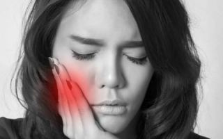 Как успокоить ноющий зуб в домашних условиях