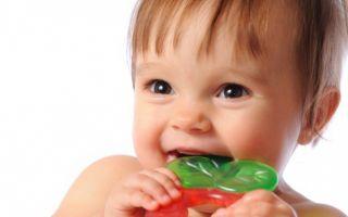 Тошнота при прорезывании зубов у ребенка