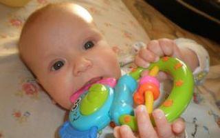 Высокая температура у ребенка на зубы