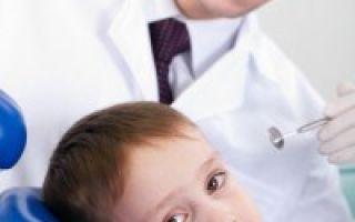 Лечение передних молочных зубов