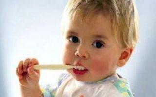 Количество зубов у ребенка в 1 год
