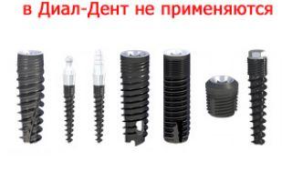 Импланты российского производства