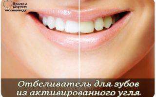 Активированный уголь для зубов