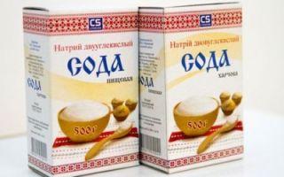 Полоскание содой при стоматите
