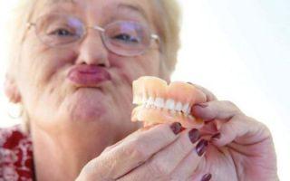 Чем приклеить зубной протез