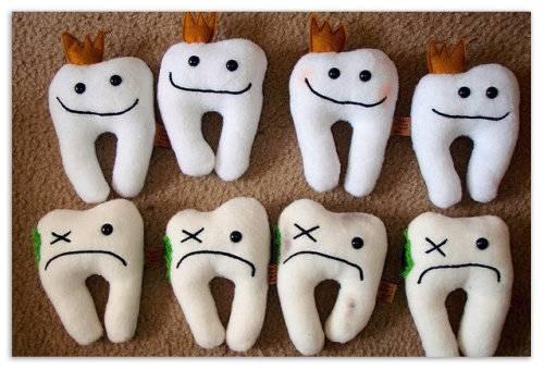 Игрушки зубы.
