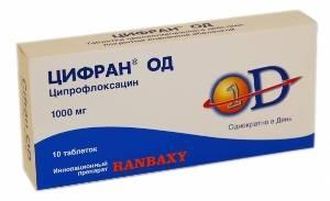 Антибиотик Цифран
