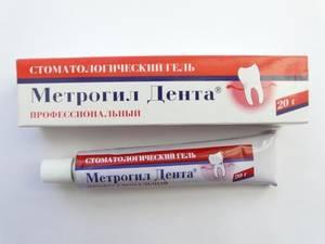 Препарат Метрогил дента для лечения ротовой полости