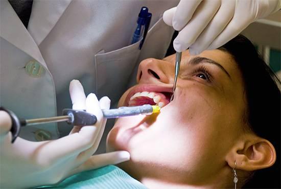 Температура после лечения зубов