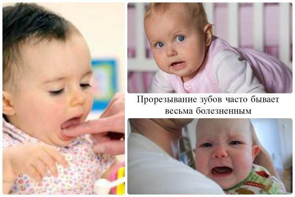 первые зубки лезут в разные сроки