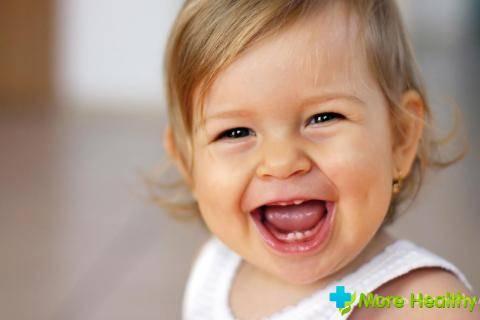 Здоровые молочные зубки