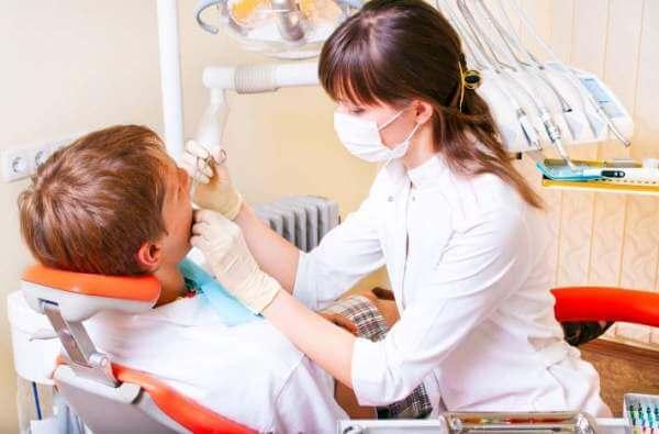 как проводится санация полости рта