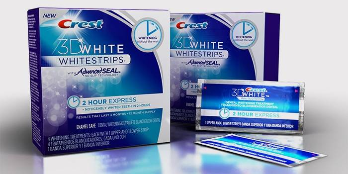 Crest 3D White 2-Hour Express Whitestrips