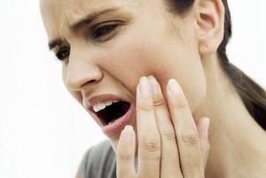 Флюс зуба у взрослого