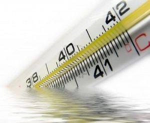 увеличение температуры тела