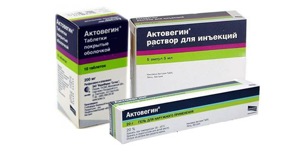 Актовегин (таблетки, мазь, раствор для инъекций) - инструкция по применению, цена, отзывы