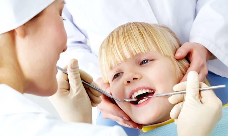 Постоянные зубы ребенка