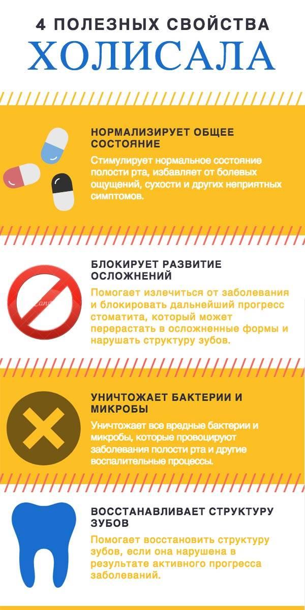 Инфографика - свойства холисала