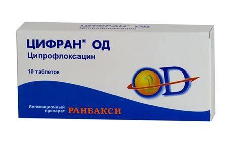 антибиотик цифран при бронхите