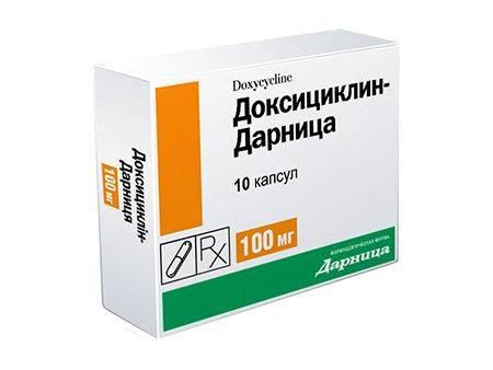 лечение бронхита с помощью антибиотика доксициклин