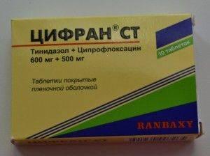 Антибиотик цифран при зубной боли