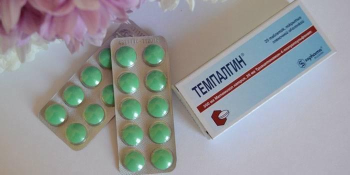 Болеутоляющие средство Темпалгин