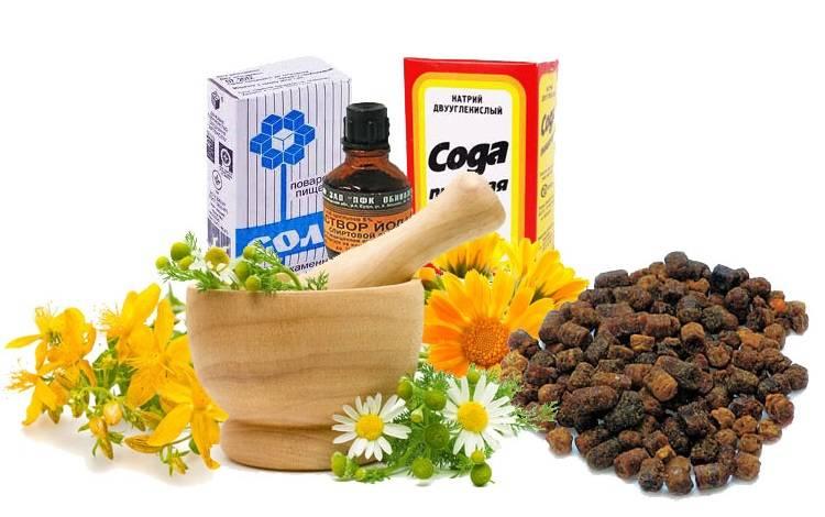 Народные средства для полоскания воспаленных десен