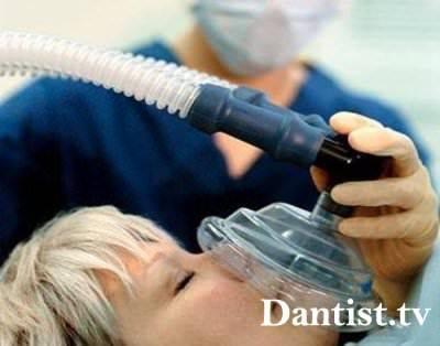 Общая анестезия при удалении кисты зуба