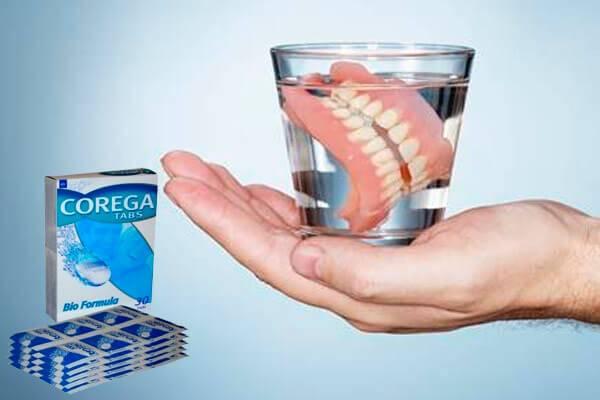 Инструкция к таблеткам Корега для чистки зубных протезов применение аналоги и виды фиксаторов