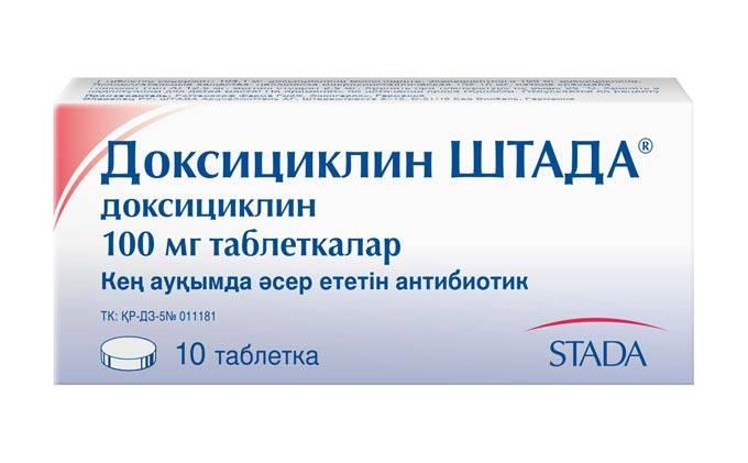 Доксициклин от флюса