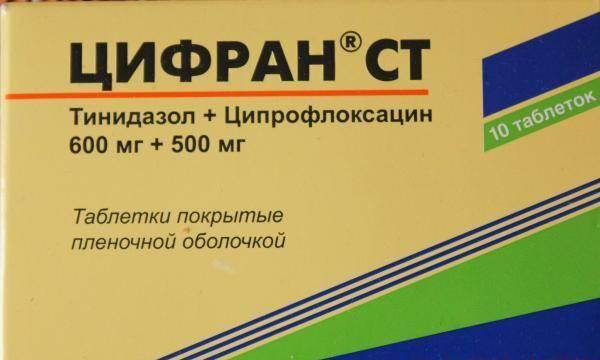 Цифран - антибиотик назначаемый стоматологом