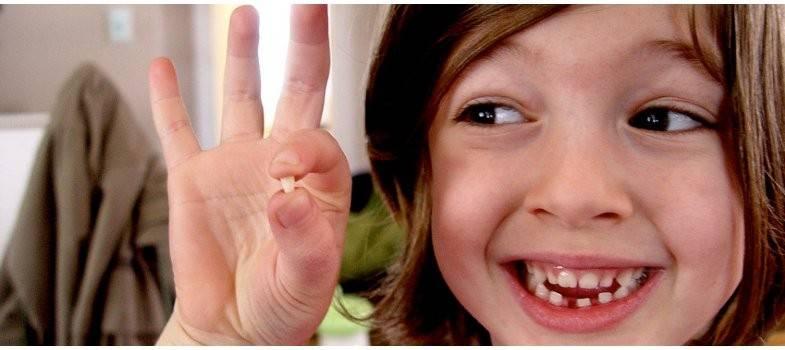 Молочные зубы удаляются быстро и без боли